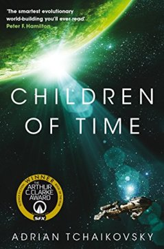 Cover of The Children of Time by Adrian Tchaikovsky
